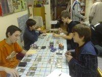 turnaj Magic v klubovně