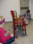 obouvání židlí