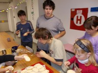 příprava chlebíčků