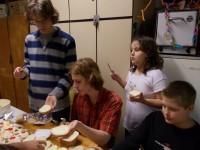 příprava chlebíčků 2