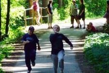 běh - Vašek a Petr