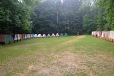 pohled na tábor od kuchyně